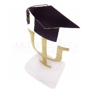 Σύμβολο Ψυχιατρικής, Ψυχολογίας Με Καπέλο Αποφοίτησης