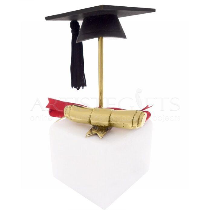 Διακοσμητικό Με Καπέλο Αποφοίτησης και Πτυχίο