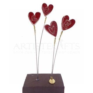 Κόκκινες Καρδιές LOVE και Μικρό 21, Σε Βάση