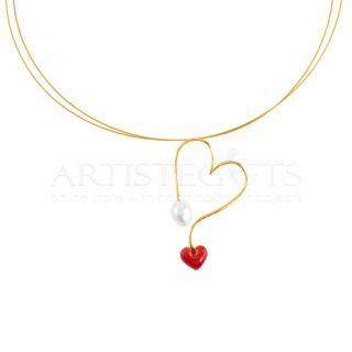 Καρδιά, μενταγιον, κολιέ, κόσμημα για λαιμό, δώρο για επέτειο, δώρα για γυναίκα, δώρα αγίου βαλεντίνου, δώρα για επέτειο σχέσης, επέτειο γάμου