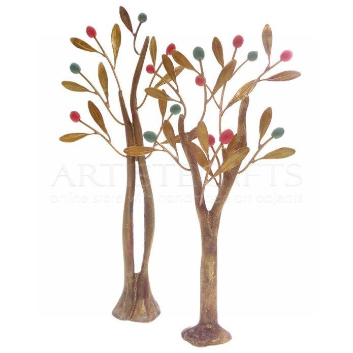 Σύνθεση Δέντρα Με Πολύχρωμους Καρπούς